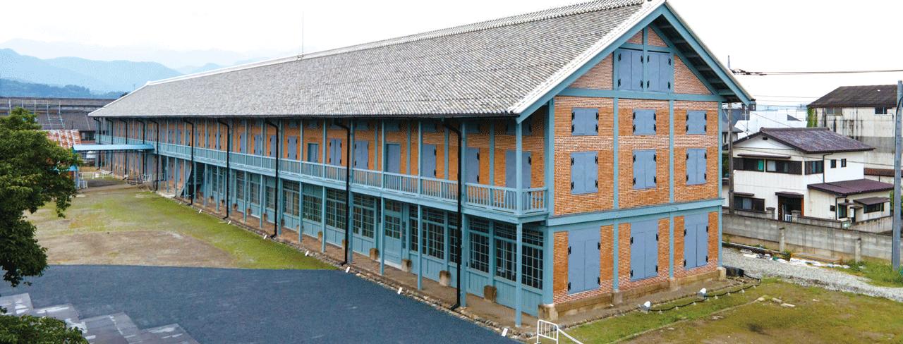 富岡製糸場西置繭所(群馬県)