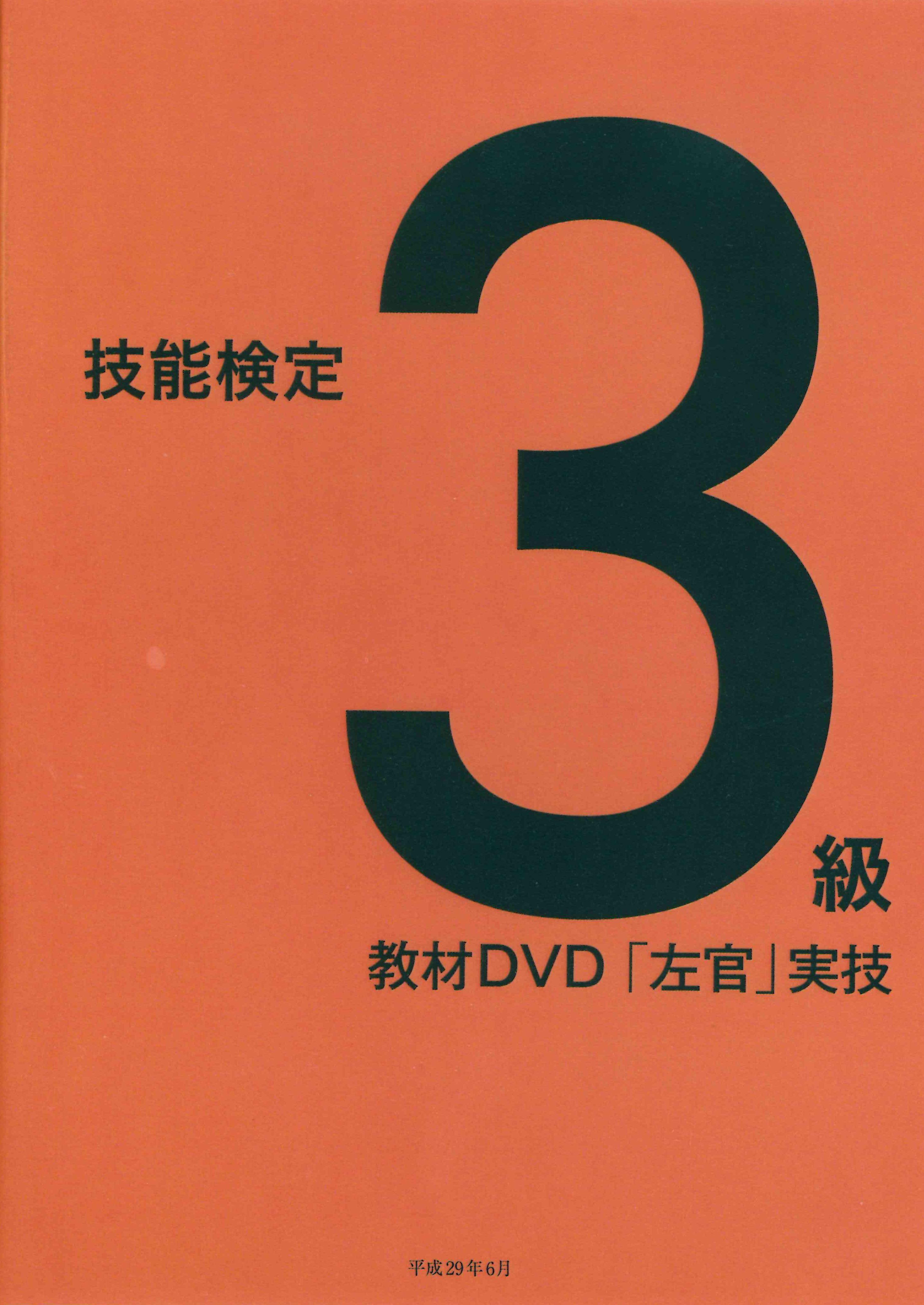技能検定3級教材DVD「左官」実技
